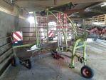 Mechanized hay rakes CLAAS LINER 450