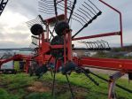 Mechanized hay rakes LELY HIBISCUS