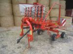 Mechanized hay rakes KUHN GA 4321 GM